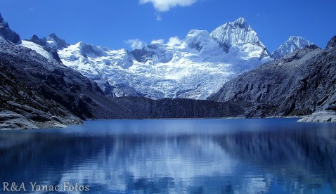 Andes Mountain lakes