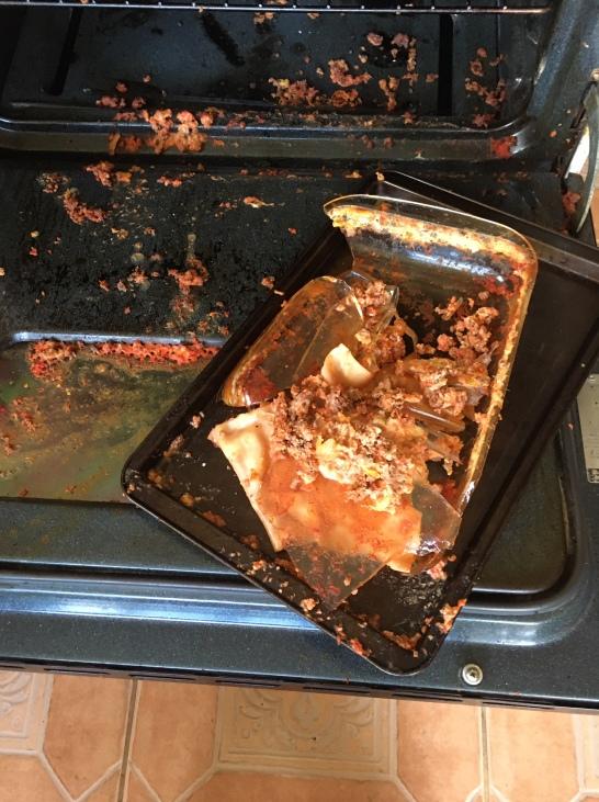 once-perfect lasagna