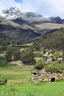 Las ruinas de Joncopampa